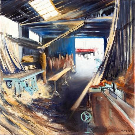 The shipyard of Camaret
