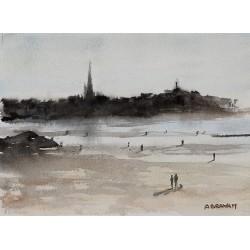 Aube sur St Malo