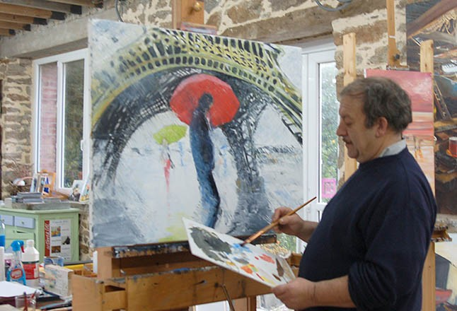 Patrick Abraham peintre de marine