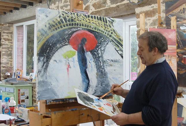 Le peintre de marine patrick abraham